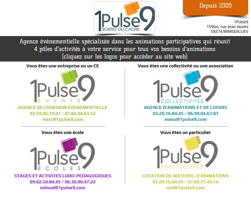 1Pulse9 agence evenementielle Weppes 02