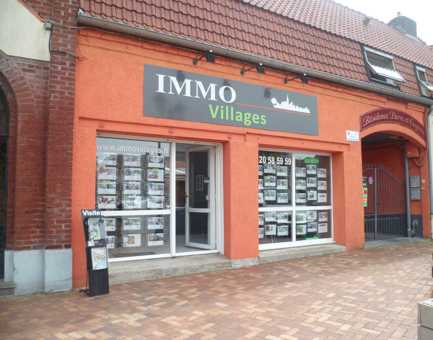 Agence immobiliere Sainghin en Weppes Immo Villages 01
